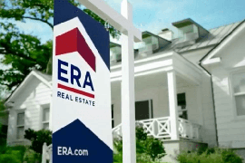 ERA real estate sign for sale outside white house