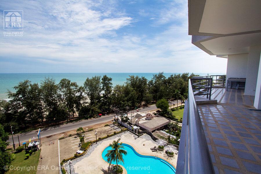 Hyra bostad Rayong Underbar balkong
