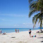 The 10 km long Mae Ramphung beach outside Rayong Condo Chain