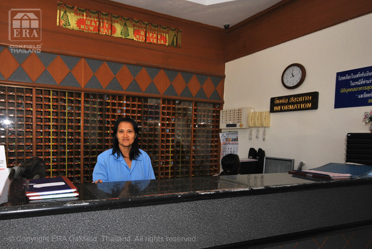 reception staff at VIP condominium