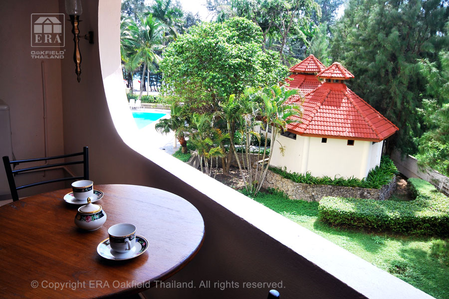 Hyra lägenhet Rayong Thailand Balkong