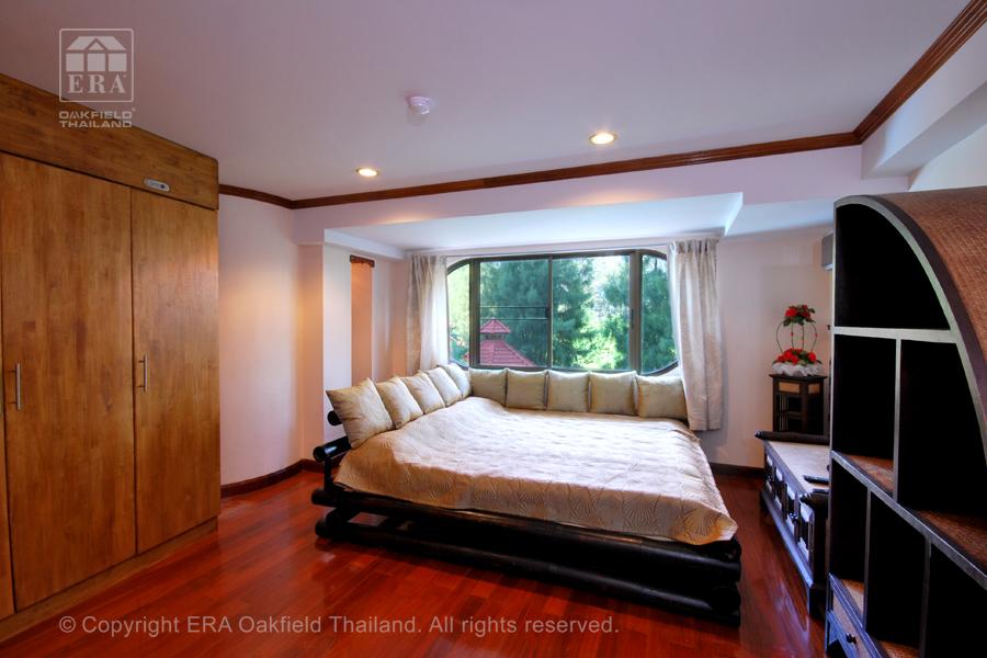 Hyra lägenhet Rayong Thailand sovrum